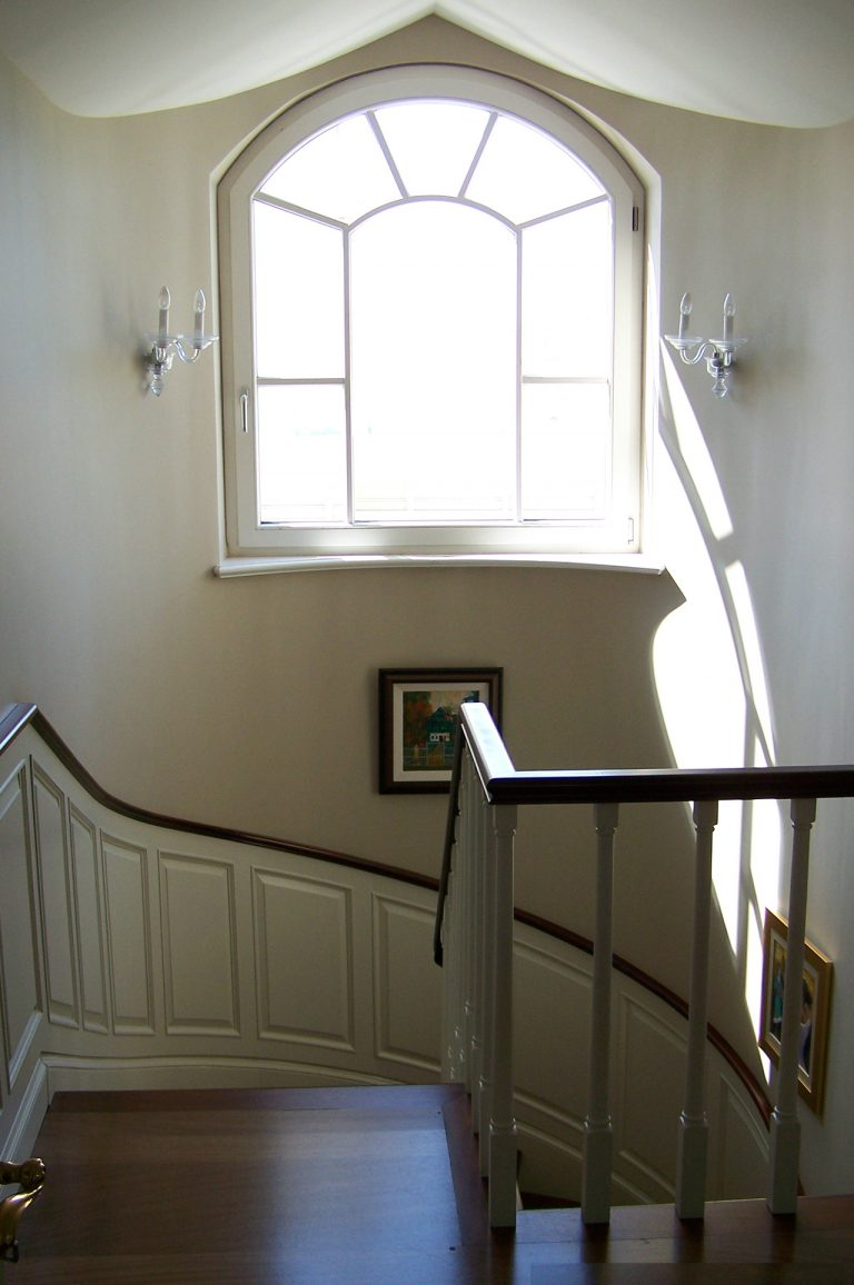 Mimari merdiven detayı